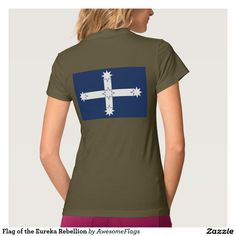 Flag of the Eureka Rebellion Tee Shirts