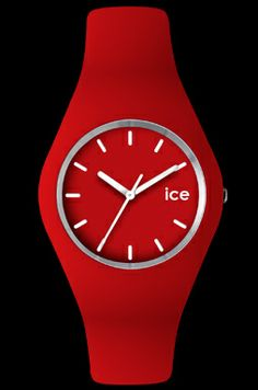 ICE - Red - white - Unisex (ICE.RD.U.S.12) Size	 :	 Unisex Band :	Silicone - Red Case :	Silicone - Red Movement :	Japanese movement Packaging :	Becubic Water resistance :	10 ATM Warranty :	2 years