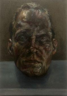 Anerican Football, 35x50cm, oil on linnen, Paul Legeland