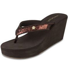 286d454f32fc Jams World Women s Islander Wedge Flip Flop -- You can find more details by  visiting