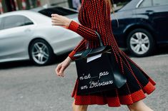 Tommy Ton Shoots Street Style at the Spring 2015 RTW Shows #fashionweek #streetchic