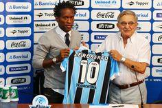Zé Roberto renova com Grêmio até fim de 2013