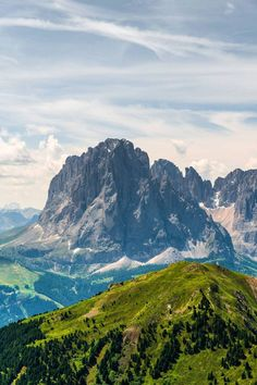 The Dolomites in northern Italy.