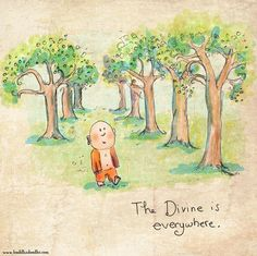 Buddha Doodles - The divine is everywhere