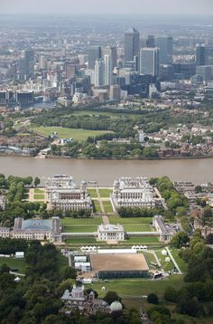 london 2012 olympics  Great view of docklands from Greenwich.  Skyline due to change