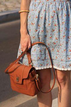Love the European shoulder bag.