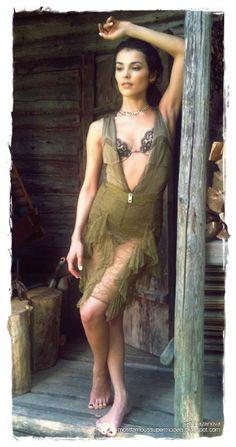 Famous Model Sati Kazanova Photoshoot 08