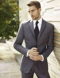 Skip the tux and go for a well tailored suit for the groom.