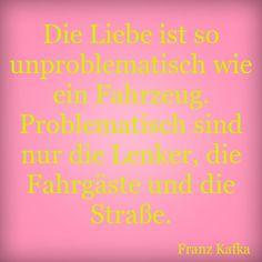 Schon Kafka wusste Bescheid!