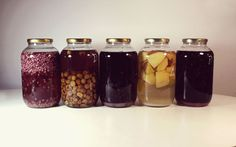 pomegranate, wild pear, blackberry, quince and blackthorn (sloe) in jars for at least 40 days. Pomegranate, Blackberry, Mason Jars, At Least, Homemade, Granada, Home Made, Pomegranates, Blackberries