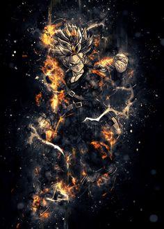 Hand-crafted metal posters designed by talented artists. Manga Anime, Dark Souls Art, Beautiful Dragon, Soul Art, Dragon Ball Gt, Cool Artwork, Wallpaper, Chill, Goku Saiyan