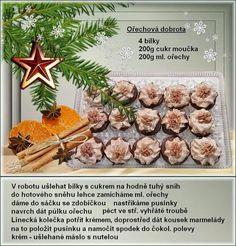 Kokosové Bounty guličky iba z troch surovín - Báječné recepty Christmas Candy, Christmas Baking, Christmas Cookies, Xmas, Sweet Tooth, Food And Drink, Treats, Cooking, Recipes