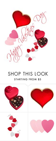 """Happy Valentines Day"" by isabellamontileone ❤ liked on Polyvore featuring Godiva, Levtex and Sephora Collection"
