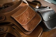 Headknife Leather Goods - Leather goods made by hand in the USA. Help Headknife with a custom run of high-quality leather.