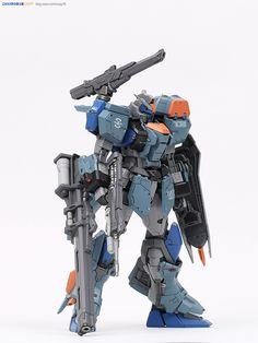 GUNDAM GUY: MG 1/100 Duel Gundam Assaultshroud - Painted Build