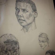 #daily #practice #sketching #sketch #sketches #furiosa #madmaxfuryroad #mad #max #fury #road #furyroad #pencil #face #woman #faces