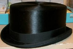 """Who doesn't love a top hat?  I mean... really.  Not only does it bring on the """"Putting on the Ritz"""" music in your head, but there is NO BETTER way to finish off your tuxedo saddleseat suit at your next horse show."""