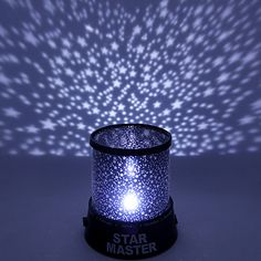 Wedding Décor Color-changing Star Beauty Starry Sky Projector Night Light (3xAA, Random Color) 2018 - $4.99