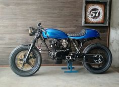 Cafe racer honda cb400 made by 57garage
