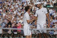 "Wimbledon 2015 -- ATP Tour - Murray vs. Ivo Karlovic -- ""I came up with some good lobs, good passing shots today. I managed to keep him low,"" Murray said after the game."