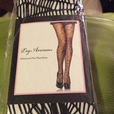 Leg Avenue Distressed Net Pantyhose• New in Package• Bundle and save‼️ Leg Avenue Accessories Hosiery & Socks