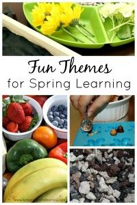 Preschool Learning with Spring Themes (guest post) - The Measured Mom