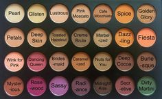 For those who do not own the Jacklyn Hills favorites pallet by morphe you can buy the individual shadows by morphe seperate and walla' here are the names of the colors. These are the actual shadows in her pallet.