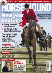 4 January edition. Find out what's inside at http://www.horseandhound.co.uk/news/397/315488.html  www.Nicker.com