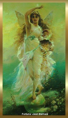 Fortuna - The Angel of Prosperity , Protection, Fortune, Luck and Abundance