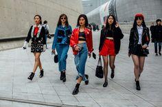 Street Style Seul Fashion Week 2017