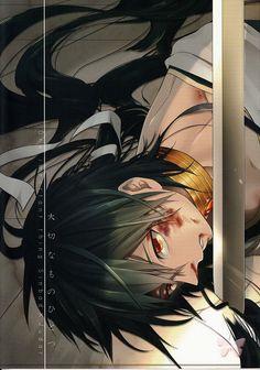 Magi: The Labyrinth of Magic BL Doujinshi - One Important Thing (Sinbad x Judar)