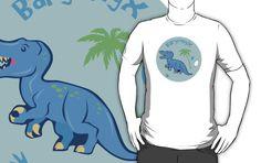 Cute Baryonyx T-shirts & hoodies #baryonyx #dinosaurs #cute #blue #jurassic