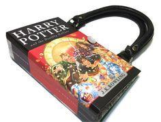 Harry Potter Book Purse  Deathly Hallows Book by retrograndma, $59.99