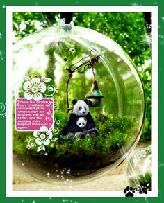 Panda Fairy Garden