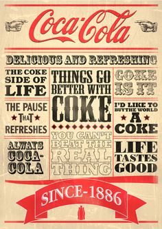 Typography Poster by Nicholas Ainsworth, via Behance