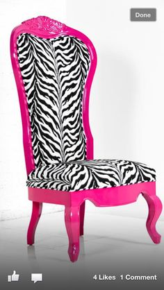 Minus the zebra print fabric