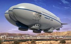 Future Aviation, Futuristic Airship, Lockheed Martin P-791, aerostat, balloon, hovercraft, gasbag, concept, future flying vehicle, prototype