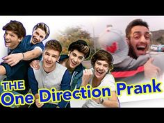 ONE DIRECTION FAN GETS PRANKED! Never seen a guy so in love with one direction before ... Hilarious !!!!