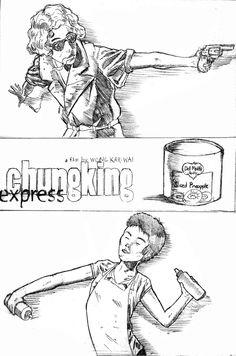 Chungking express fan art