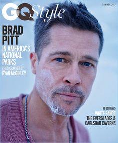 b0d950ce19 Brad Pitt covers the summer 2017 issue of GQ Style in Bottega Veneta. Gq  Style