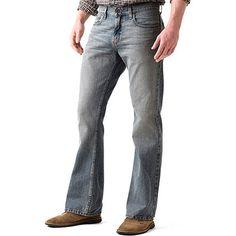 Cinch Ian Dark Stonewash Bootcut Jeans - Slim Fit | Cowboy Style ...