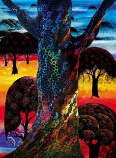 eyvind-earle - Google Search