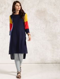 7f0d2d012d1ad Women indian kurta kurti Long shrug Dress top tees bottom Floral gown new- K19 #