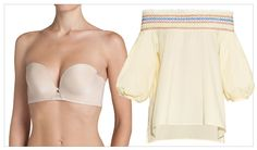 Our Comprehensive Guide to the Right Bra for Every Summer Top Trend - The Strapless  - from InStyle.com