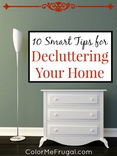 Has clutter taken over your life? If it has, you're not alone! Take back your house and your life with these tips for decluttering.