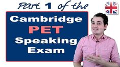 In this lesson, you'll learn about part one of the Cambridge PET speaking exam. Do you know the basic information about the PET speaking exam and how it work. Cambridge Pet, Cambridge Exams, Cambridge Advanced, Listen And Speak, Watch Video, Teaching English, Learning, Pets, Youtube