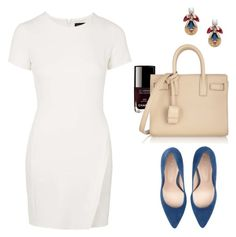 Untitled #332 by angela-reiss on Polyvore featuring polyvore, fashion, style, Topshop, Jigsaw, Yves Saint Laurent, J.Crew and Chanel