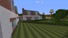 Minecraft gaming xbox xbox360 PC house home creative mode mojang barn modern house bungalow upside-down MinecraftHome MinecraftHouse PhillipStewartDesign MinecraftBuilding