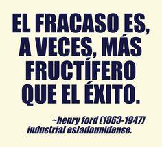 Henry Ford (1863-1947) Industrial estadounidense. #citas #frases