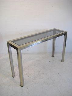1970s Italian console table